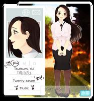 .:IH:. Tsutsumi, Yui by maguroast