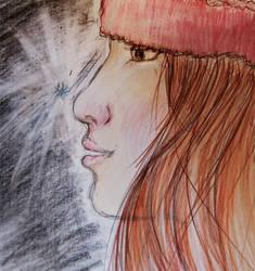 R fanart :: Molly--Snow by Natasha-V