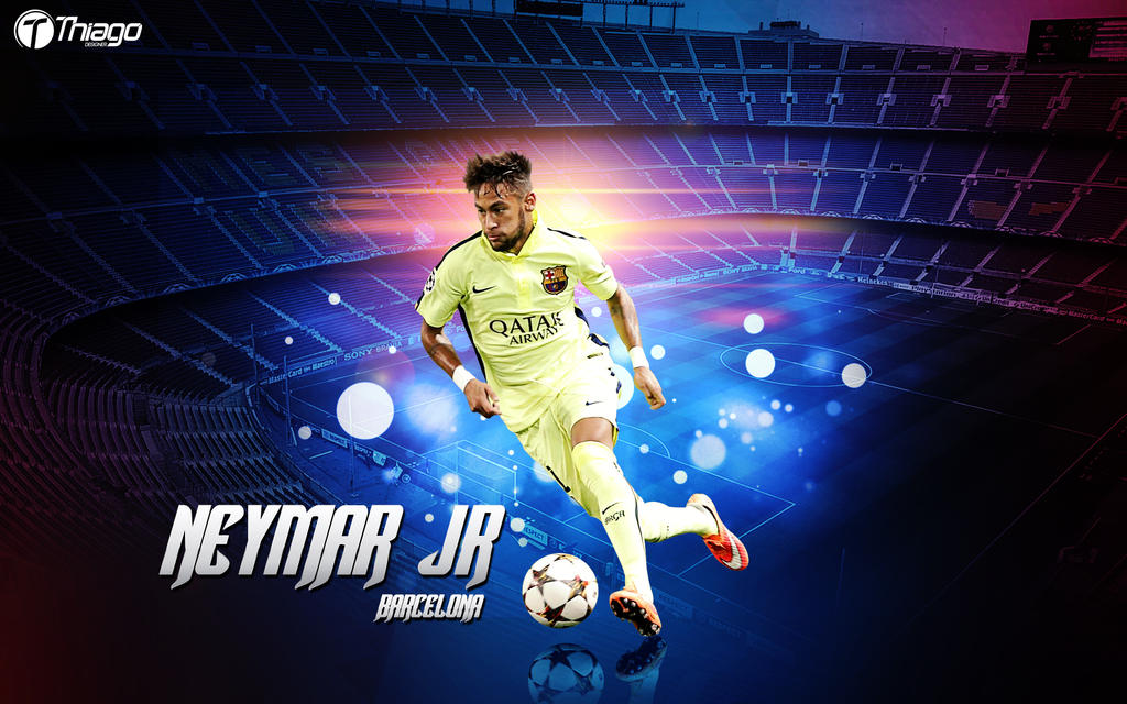 Wallpaper neymar jr barcelona by thiagojustino on deviantart