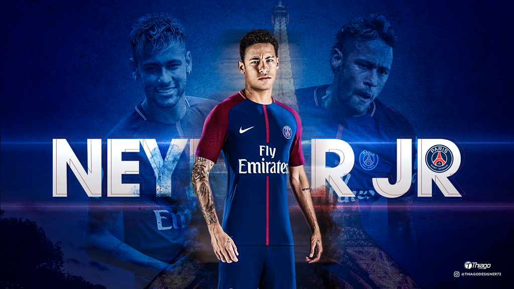 Wallpaper Neymar Jr PSG By THIAGOJUSTINO