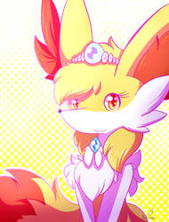 Braixen Princess by StarlightNexus-Chan