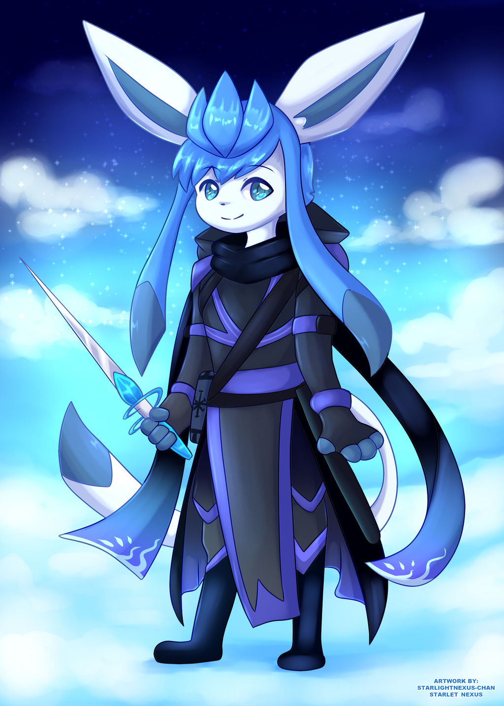 (Comm) Glaceon Character