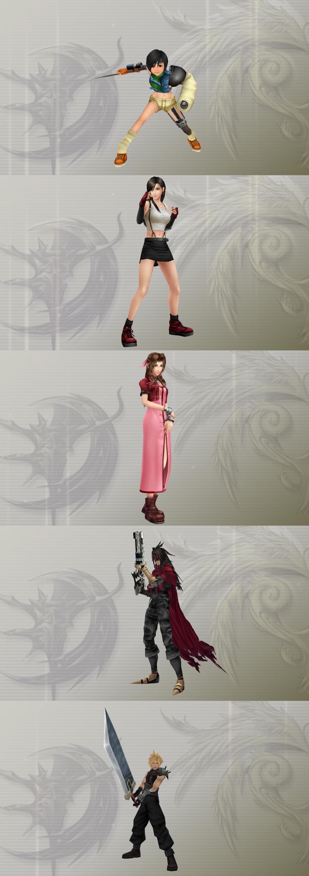 Tifa, Aerith, Yuffie - Final Fantasy VII   Final Fantasy 7 ...   Yuffie And Aerith