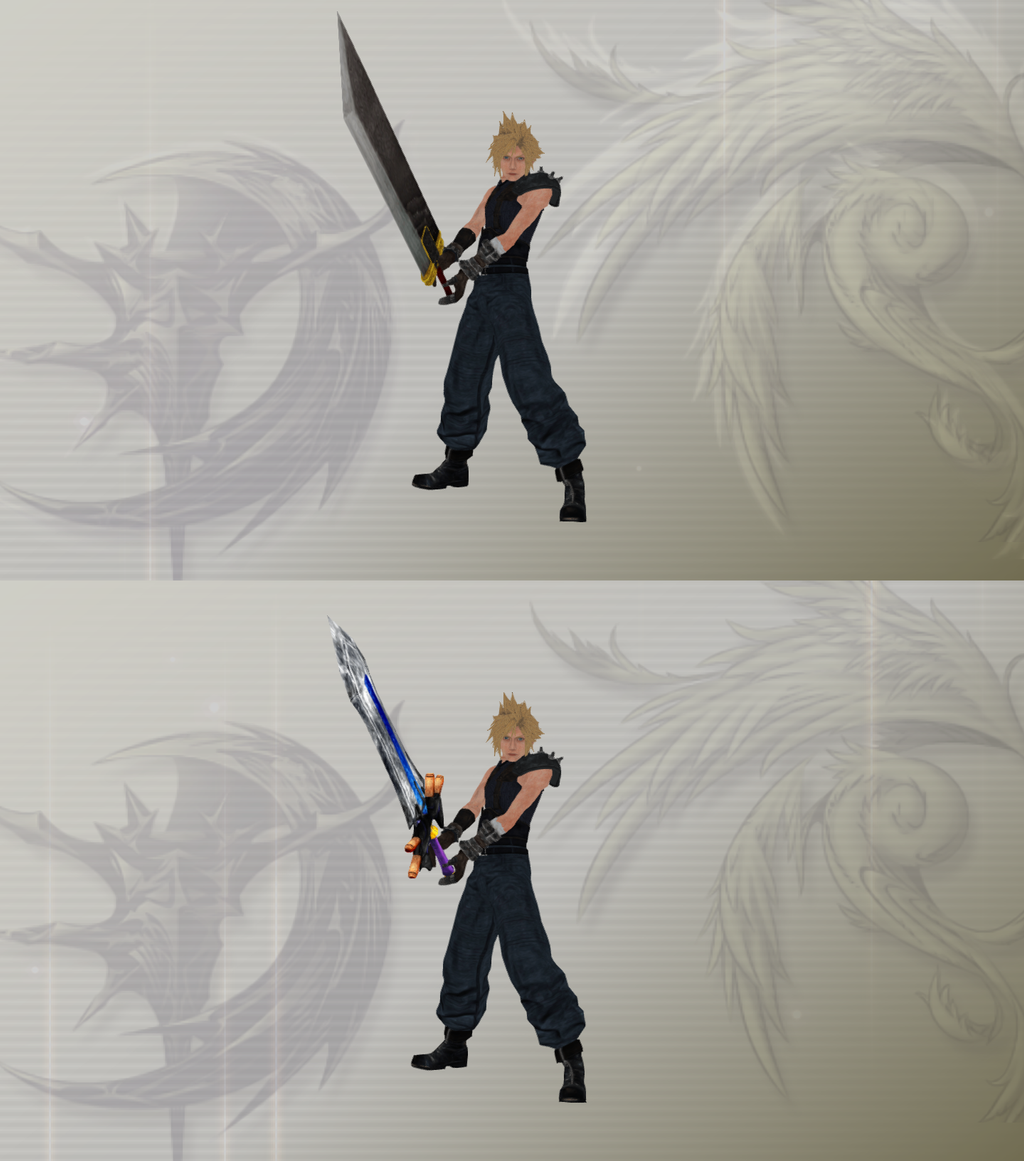 dissidia_cloud_strife_remake_by_trishty-