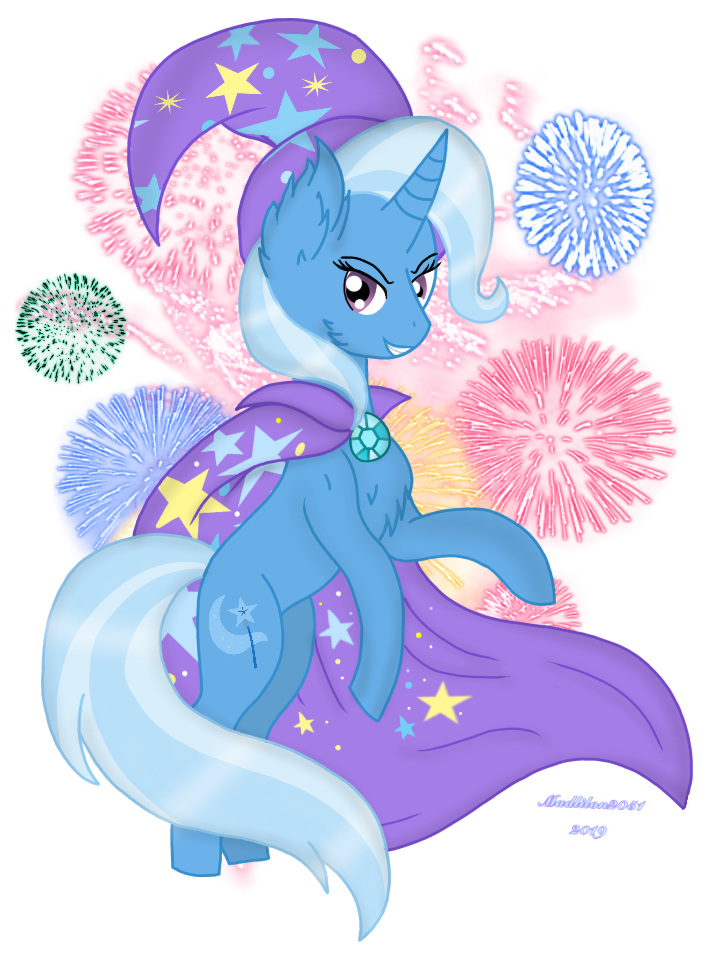 Mlp: The Great and Powerful Trixe! by Madlilon2051