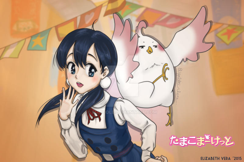 Tamako Market by EliRiddle