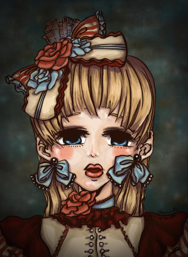 Lolita portrait by EliRiddle