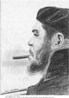 endrius che guevara pencil by endrius