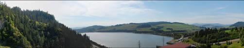 Pieniny-panorama by endrius