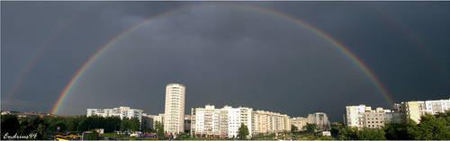 rainbow again by endrius