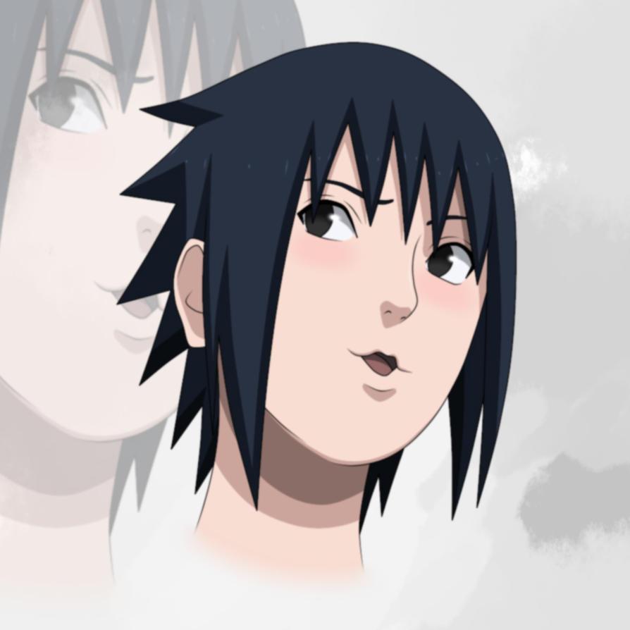 .:COLORED:. Sasuke -- RTN style by x-ChuChuNyaNyaYuYu-x