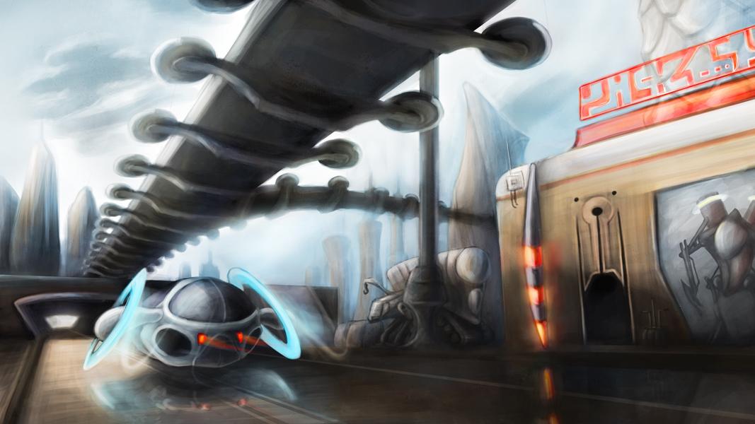 Futuristic Cityscape by panvix