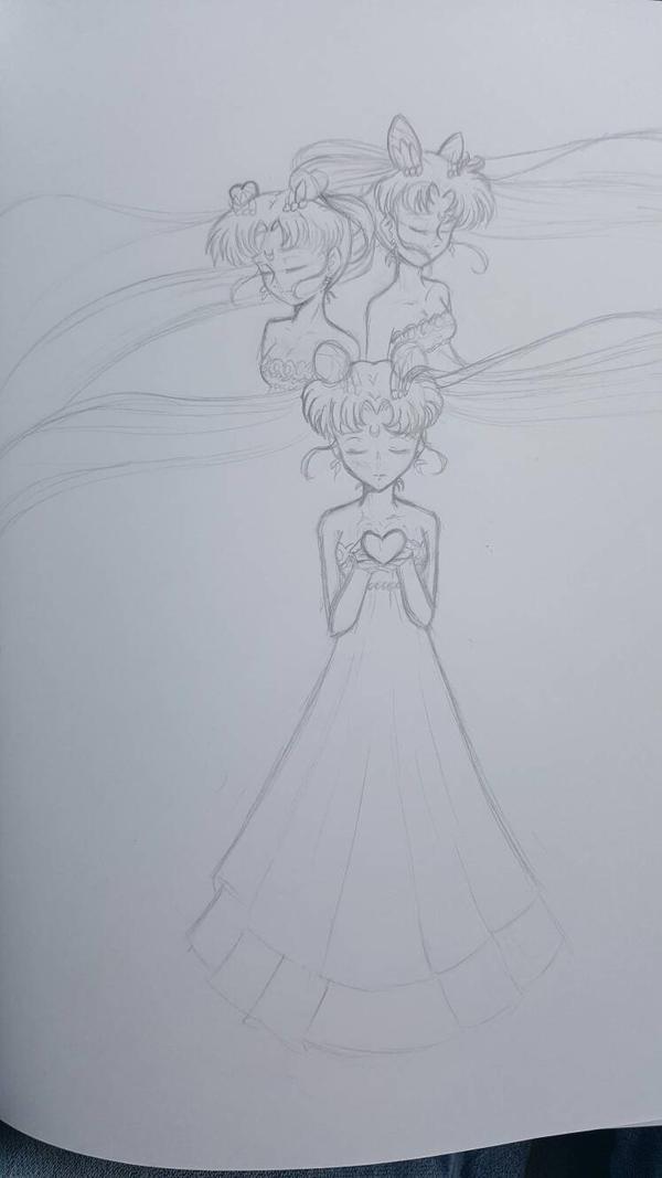 moon princesses by KumagoroBunnyGirls