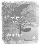 Banner having some winter fun!