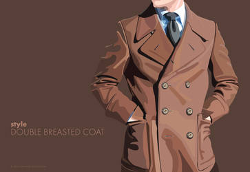 Double breasted coat by ivankasaj