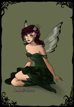 Wisteria fairy form