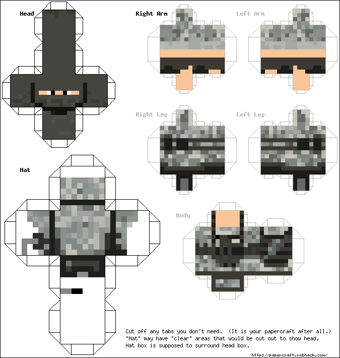 Origami Minecraft Pickaxe Instructions Psychologyarticlesfo