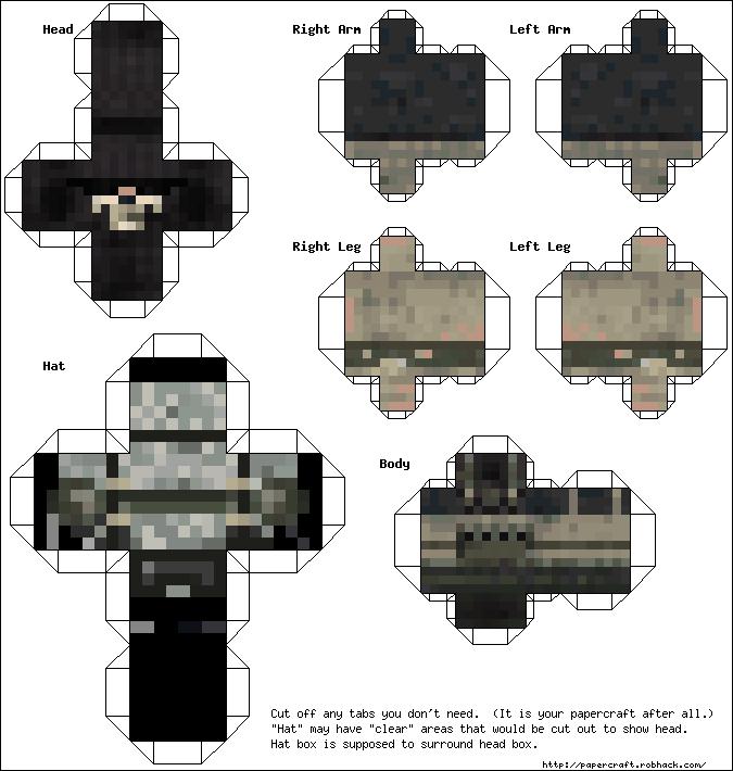 minecraft free papercraft by tomfoxy on DeviantArt