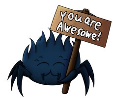you are awesome Foolish transparent by GreenflyArt