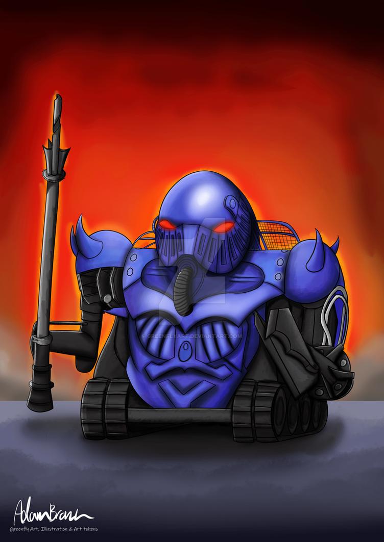 Sir Killalot by GreenflyArt