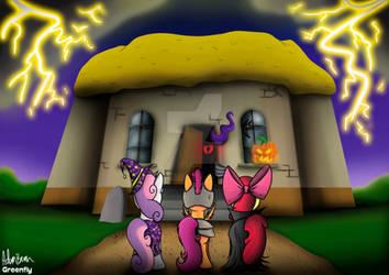 MLP: CMC Halloween redrew