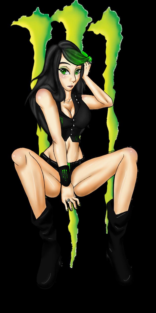 Porn monster energi girl hentay images