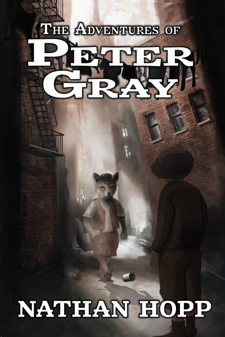 The Adventures of Peter Gray - Book Cover