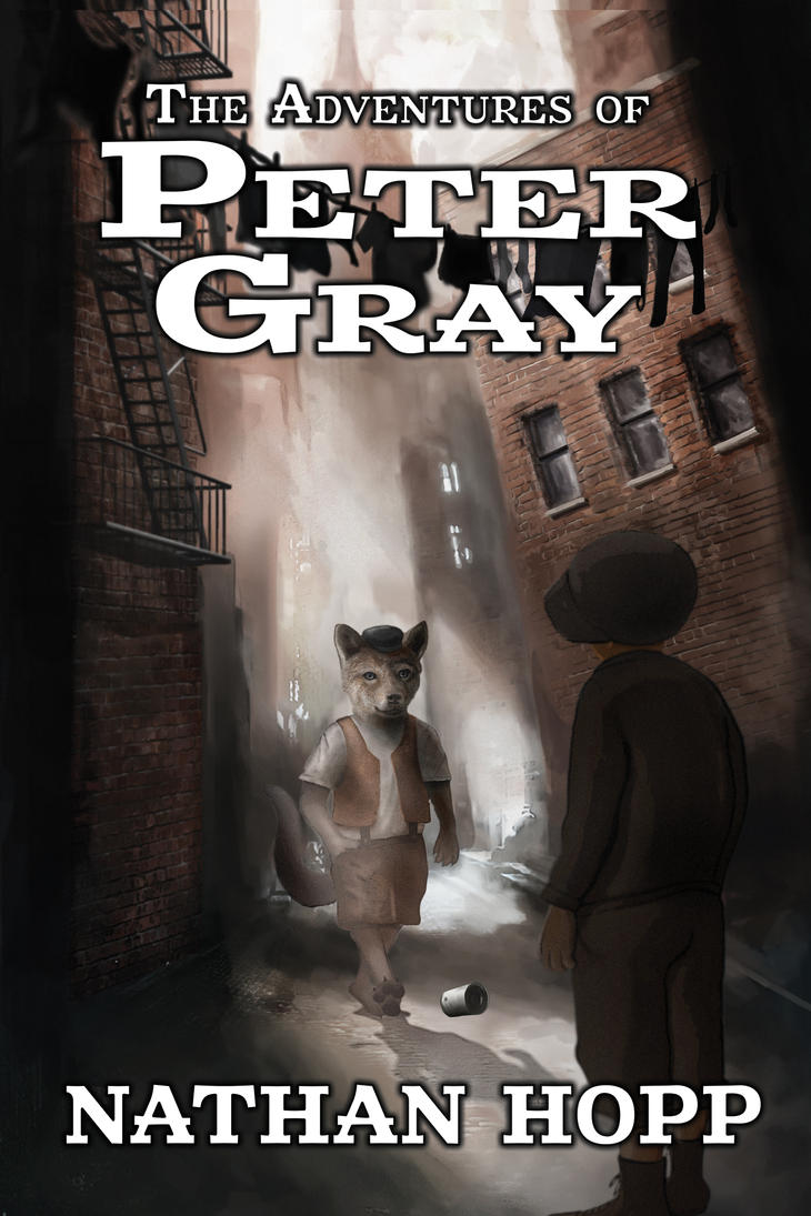The Adventures of Peter Gray - Book Cover by Domus-Vocis