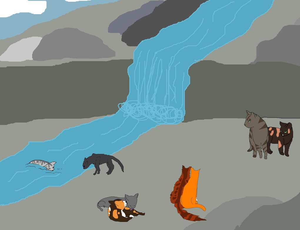 Pictures Of Warrior Cats Hunting
