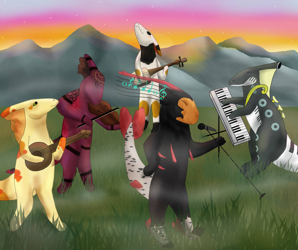 Band Time! (Pride - Magic Progression)