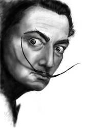 salvador dali_digital drawing