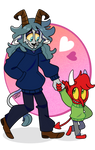SMOL IMP BOYFRIEND by LittleMissDevil21