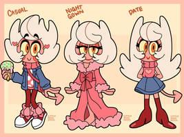 Milo Hellman Outfit Lineup by LittleMissDevil21