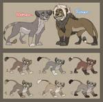 OTA Lion Family Adopts - [3/8]OPEN!!