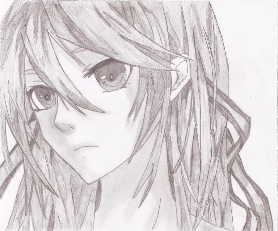 Hatsune miku drawing face