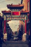 chinese gate - antwerp