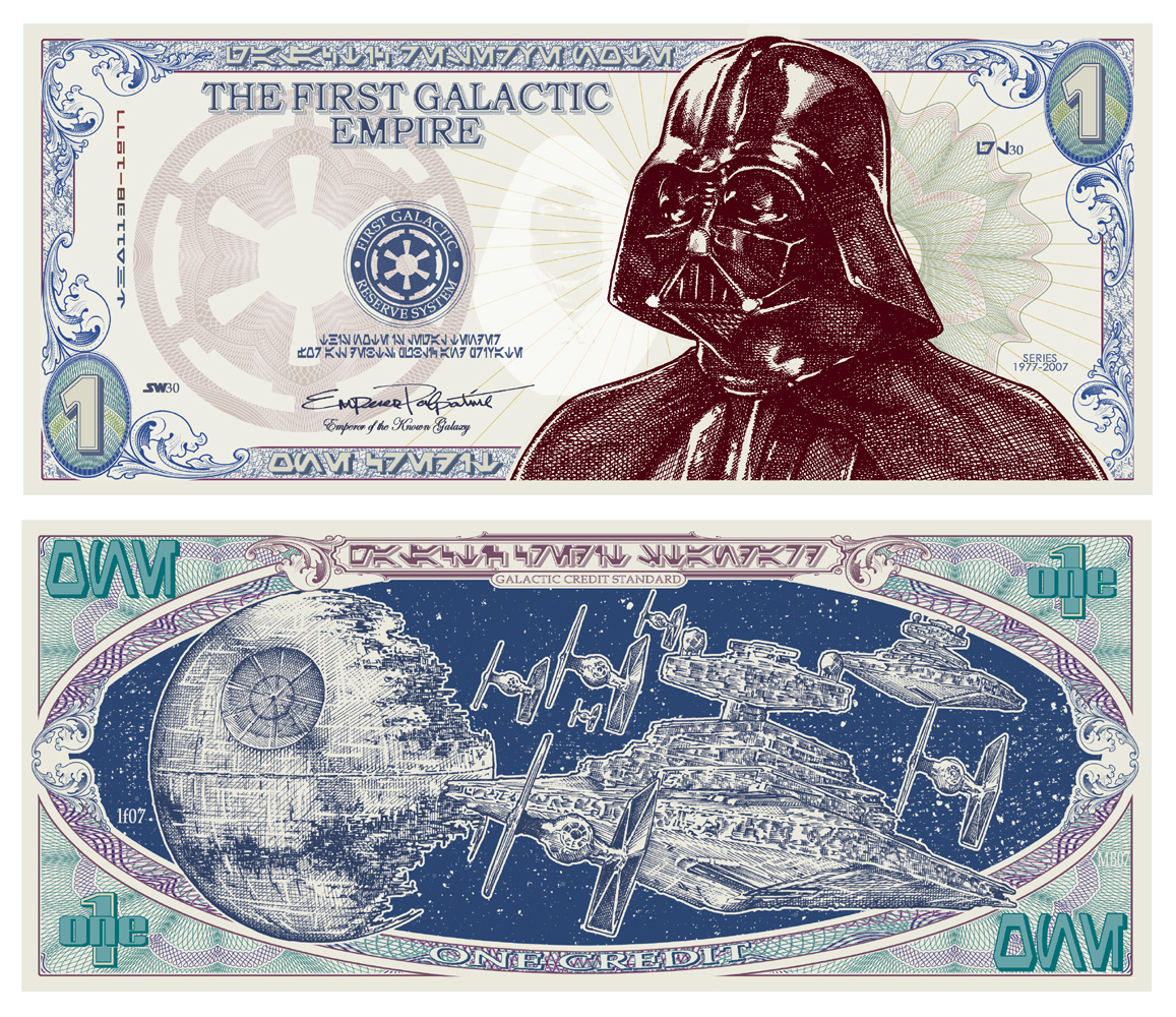 Darth Vader Currency