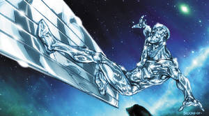 Silver Surfer warm-up