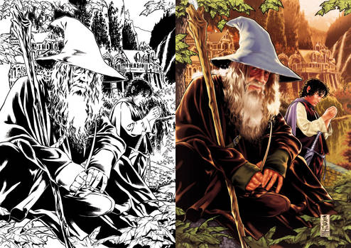 Gandalf the Grey for Topps
