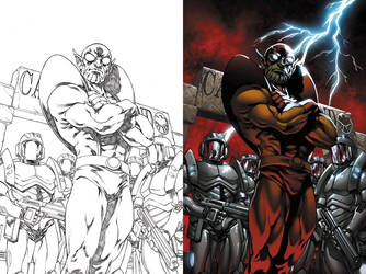 Avengers: Initiative cover by diablo2003