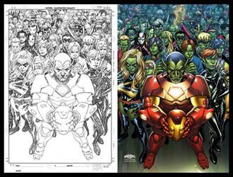 Avengers: Initiative cover 15 by diablo2003