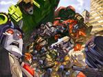 GI Joe Transformers No 4 cover
