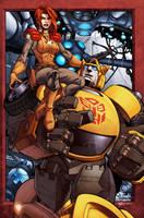 GI Joe-Transformers cover and by diablo2003