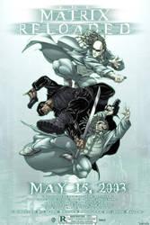 Matrix homage poster by diablo2003