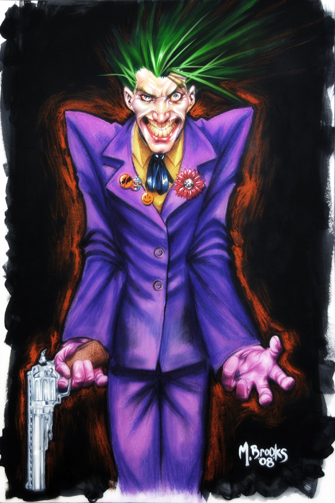 Joker painting by diablo2003