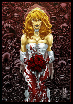 Zombie Bride by diablo2003