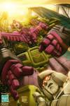 Devastator and Megatron