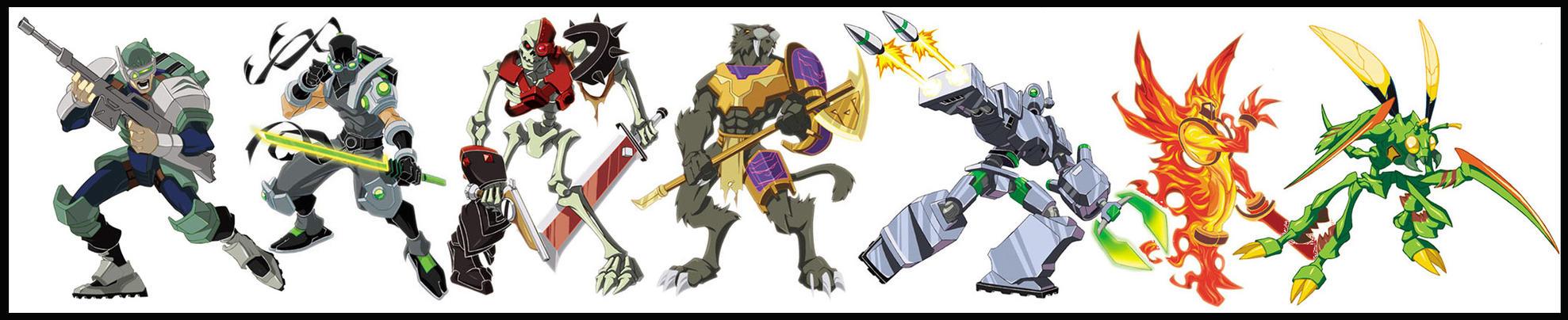 Hasbro Xevoz designs by diablo2003