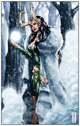 Loki: Summoning the ice giants by diablo2003