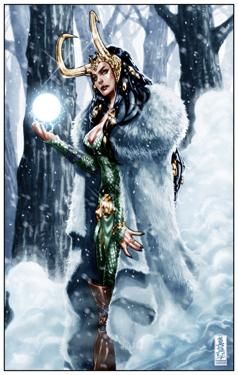 Thorhalla Lokidottir Loki__Summoning_the_ice_giants_by_diablo2003